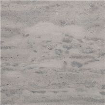 Adair Blue-Grey Limestone (Vein Cut) – Honed Finish Slabs & Tiles, Canada Grey Limestone