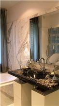Nero Portoro Custom Bath Top