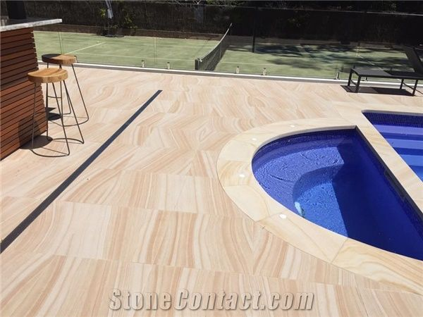 Sandstone Pool Paver, Pool Deck, Design Wall from Australia ...