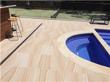Sandstone Pool Paver, Pool Deck, Design Wall