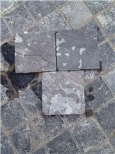 Qt-Tumbled Blue Stone Tiles