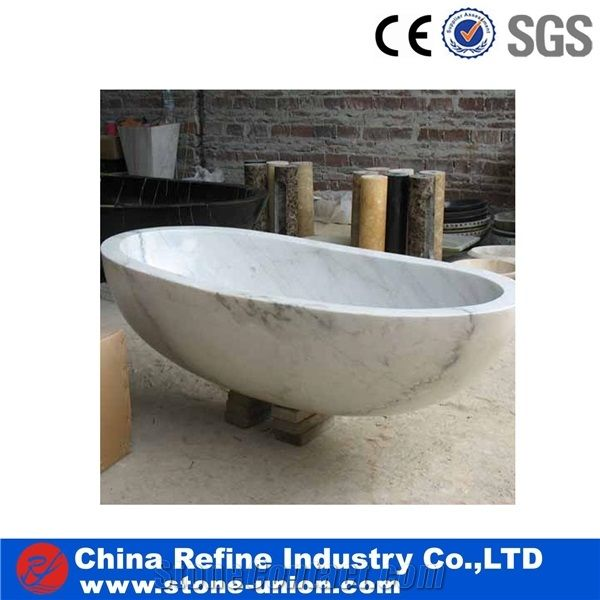 Natural Stone Bath Tub Surround China White Carved Solid Surface Tubs Polished Finished Bathtub Decks Pure Marble Hand Craft