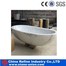 Natural Stone Bath Tub Surround,China White Carved Solid Surface Bath Tubs,Polished Finished Bath Tubs,Bathtub Decks, Pure White Marble Hand Carved Craft Bathtub Modern Design Hot Sale