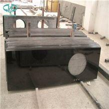 Absolute Black Granite Kitchen Countertops