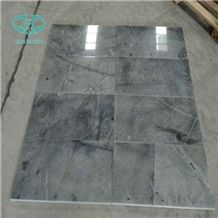 China Silver River Grey Marble 2cm Slabs and Tiles