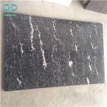 China Snow Grey,Dark Via Lactea,Jet Mist,River Black,Galaxy Silver Gray Granite Tile for Wall Cladding or Floor