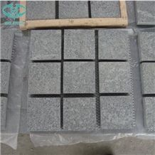 Chinese G654 Light and Dark Grey Granite Cobble Stone,Cube Stone,Paving Sets,Cobblestone,Driveway Paving Stone,Walkway Pavers,Patio Pavers,Square Cube Stone,Garden Stepping Pavements
