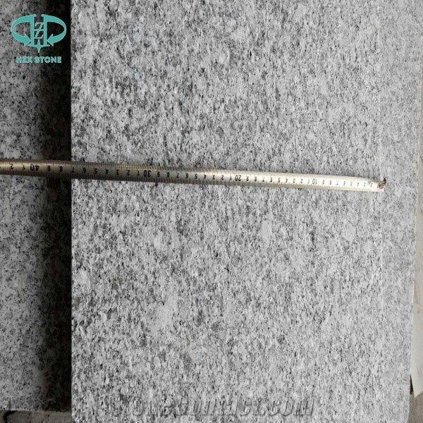 G602 Light Granite Grey Tile Flamed Wall Cladding Tiles