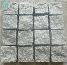 G603 Light Grey Granite Cobble Stone,Natural Split Cube Stone,Cobblestone,Paving Sets,Driveway Paving Stone,Walkway Pavers,Patio Pavers,Landscape Stone,Garden Stepping Pavements