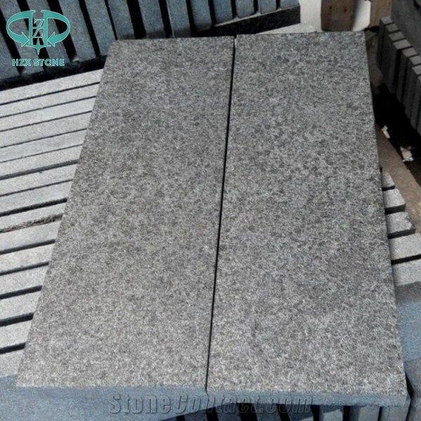 G684 Black Granite Paving Stoneflamed Granite Tilesgranite