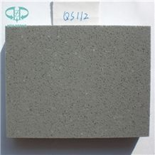 Grey Quartz Stone, Manufacturer Artificial Marble Look White Quartz Stone Slabs & Tiles Design, Polished with Cusomized Edges and Solid Surface Silestone Colors Available