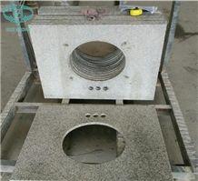 Hot Sale G365/Laizhou Sesame White/Sesame White/Shandong White/Salt & Pepper Granite/China White Granite Countertops,Bath Countertop,Table Tops,Work Tops