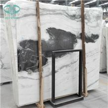 Panda White Marble Slabs and Tiles, White Dragon Marble, White Marble with Black Veins Marble,White Marble Slabs and Tiles, Book Match Design Tiles, Wall Covering