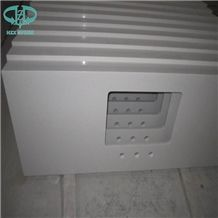 Pure White Artificial Quartz Bench Tops,Quartz Kitchen Bar Tops, Kitchen Worktops,Kitchen Countertops,Kitchen Island Tops,Kitchen Desk Tops,Custom Countertops,Engineered Stone Kitchen Tops