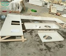 Pure White Artificial Quartz Kitchen Bar Tops,Quartz Bench Tops,Kitchen Worktops,Kitchen Countertops,Kitchen Island Tops,Desk Tops,Custom Countertops,Engineered Stone Kitchen Countertops