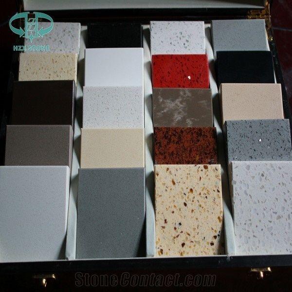 Crystal White Quartz Stone Tile