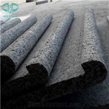 Rebated Bullnose G603 Granite Swimming Pool Coping Tiles,Pool Decks,Pool Terraces Pavers