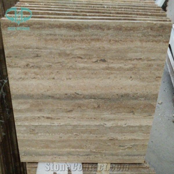 Silver Travertine Slabs Tiles Brown Polished Floor Wall Sliver Turkey Imported Light