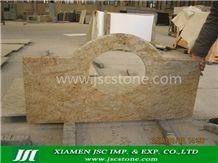 Kashmir Gold Granite Bath Top
