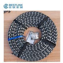 Diamond Wire Saw for Stone Cutting with 6.4mm 7.3mm Diamond Wire Saw Beads