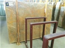 Netting Gold Marble, Golden Sunslight Marble, Yellow Marble, Huangjin Wang , Slabs or Tiles, for Wall or Flooring Coverage