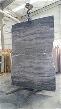Titanium Grey Marble Slab & Tiles, Grey Marble Turkey