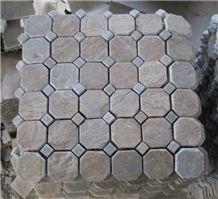 Himalaya Walling Quartzite Mosaic