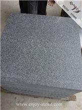 Flamed G684 Black Basalt