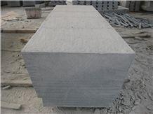 Grey Granite Flamed Kerbstones, G654 Granite Road Stone