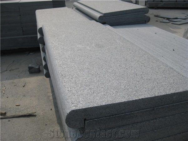 Swimming Pool Corner Tiles G654 Grey Granite Pool Coping
