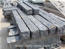 ZP Black Basalt Palisade, Zhangpu Black Basalt Cleft Natural Split Palisade/Column/Pillars