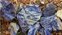 Blue Sodalite Rough Stone,Blue Sapphire,Blue Granite Stone Blocks