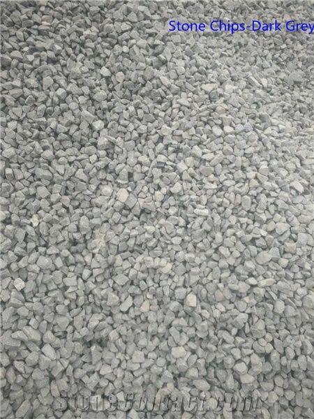 G684 Black Granite Stone Chips Dark Grey Chips From China