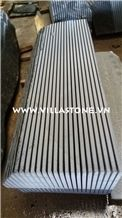 Vietnam Vls Black Basalt Slab Sawn Cut Top Quality