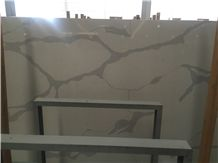 Calacatta Quartz, Calacatta White Quartz Slab & Tile, Calacatta Quartz Countertop, Engineered Stone Tiles & Slabs