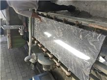 China Juparana Granite Small Slab, Middle Slab,Granite Half Slab,Black Granite Small Slab, Good Price Granite Stone Slab, Black Color Vein Stone for Stair, Weclome in Euro