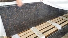 Tan Brown Granite Kitchen Countertop, Hot Sell Granite Top, Brown Kitchen Worktops