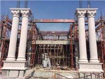 Column Pillar, Beijing White Marble Column