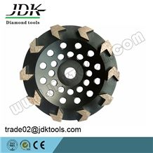 Jdk 5 Inch Diamond Arrow Segment Cup Wheel for Concrete Grinding