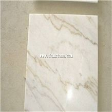 China Royal White Marble,Guang Xi White Red Vein Slab and Tiles, Red Line Vein Floor Cut to Size