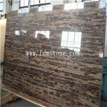 Coffee Brown Marble Big Slab,Gold Coast Marble,Brown Marble with Gold Vein Line,Wooden Vein Marble,New Flooring Design Brown Gold Coast Marble