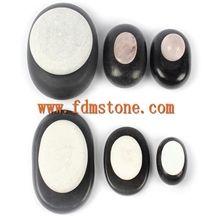 Hot Stone Black Marble Massage Set