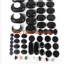 Hot Stone Massage Set,Basalt/Marble/Chakra Stones