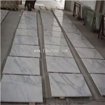 White Marble with Gray Vein Project Size