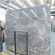 Yves Saint Laurent Grey Marble,Grey Marble with White Line Slab