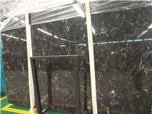 China New Black Marble Myitkyina Flower. Polished Big Slab ,Good Material for Wall Covering