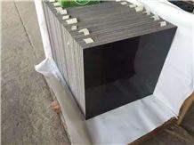 Polished Hainan Black Basalt,Andesite Basalt Slabs & Tiles/Lava Stone/Walling/Flooring/Cladding/Covering Tiles/China Grey Basalt