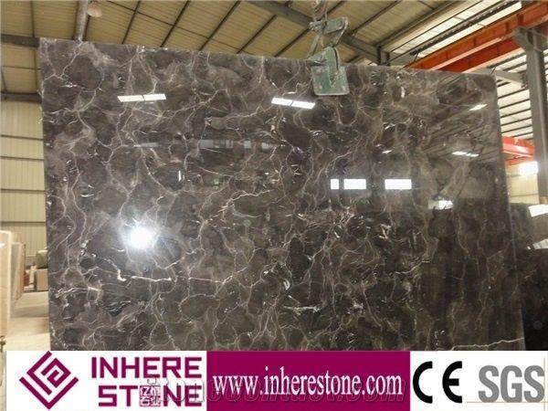 Customized Emperador Dark Marble Flooring Design Floor Pictures Border Designs