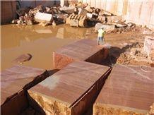 Rojo Al Andalus Marble Blocks