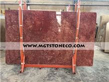 Golden Rose Marble Slabs & Tiles, Iran Red Marble